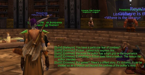 Library professionals converge in Ironforge library to talk gaming