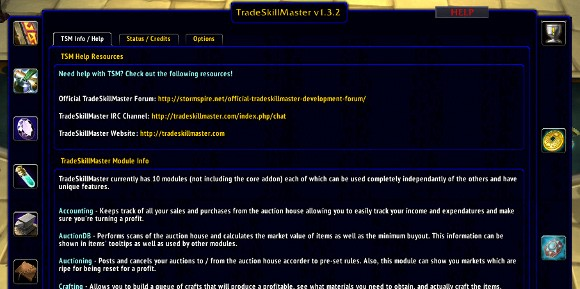 Addon Spotlight Getting Started with TradeSkillMaster