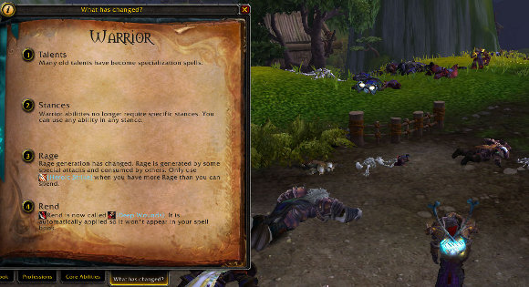 The Care and Feeding of Warriors Practical Mists of Pandaria for Warriors