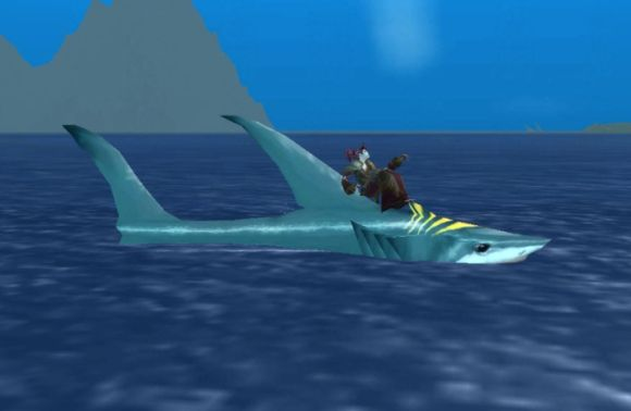Around Azeroth I'm on a shark SUNDAY