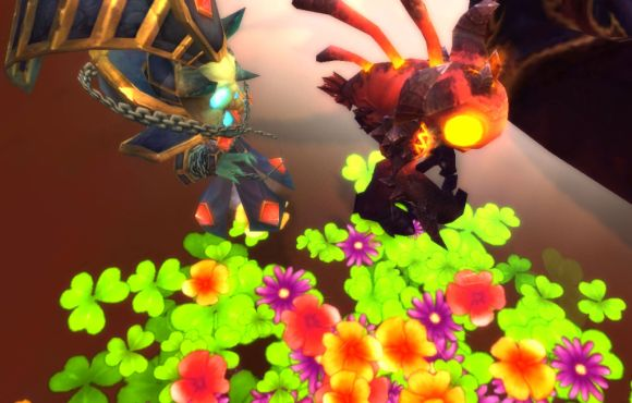 Around Azeroth Love in bloom THURSDAY