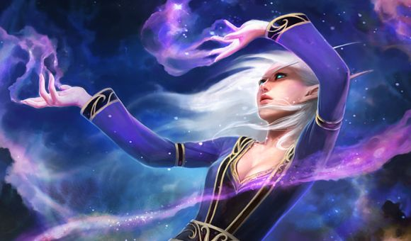 Blood elf female arcane mage