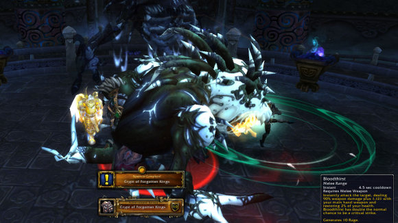 Mists of Pandaria Beta Crypt of Forgotten Kings Scenario