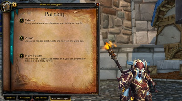 Patch 504 Changes to the spellbook