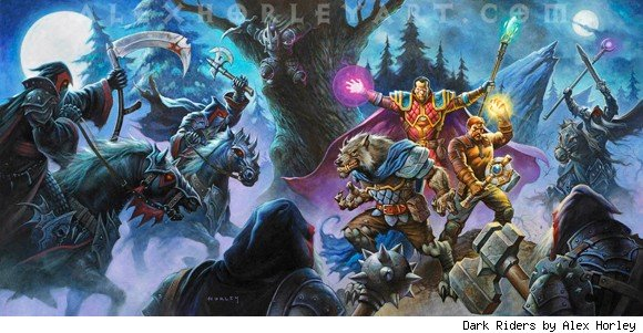 World of Warcraft Dark Riders now available for preorder ANY