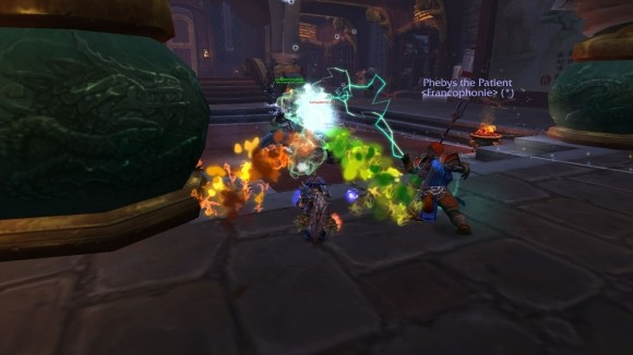 Enhancement shaman casts elemental blast