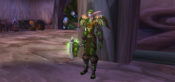 Become a Guardian of Hyjal with transmogrification THUR