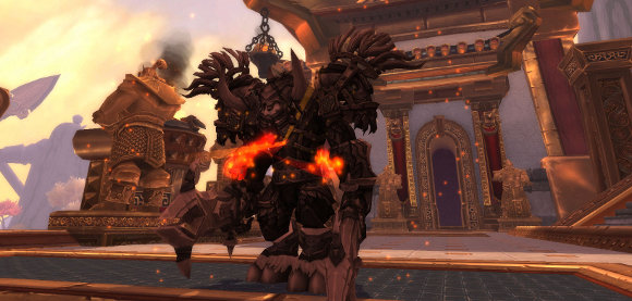 Mists of Pandaria Beta Enrage graphic rollback