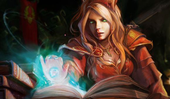 Blood Elf Female Mage