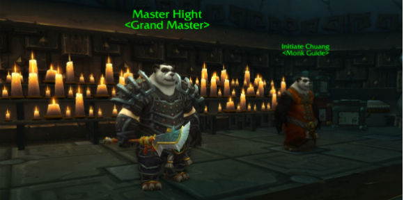 master hight Peak of Serenity in Mists of Pandaria