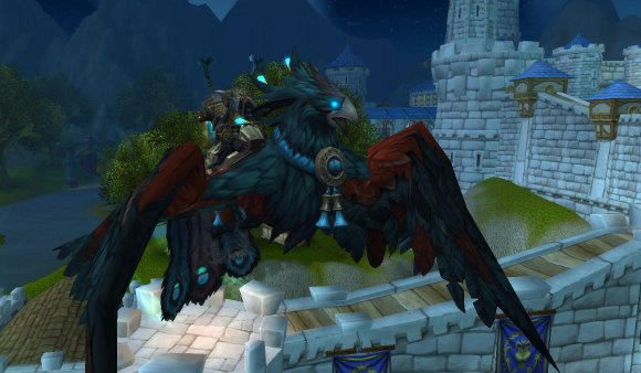 Mists of Pandaria mount preview on official site