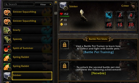 What you should know about accountwide pets, mounts and achievements