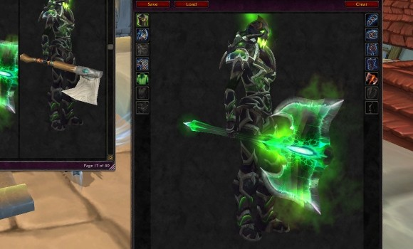 Blood Pact Best Dressed Felguard and other cosmetic glyphs 6 Aug  MON