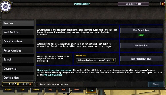 Addon Spotlight Getting Started with TradeSkillMaster Auctioning