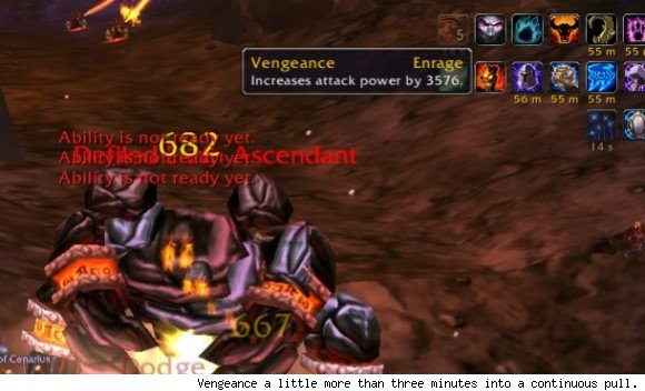 Vengeance no longer capped for tanks