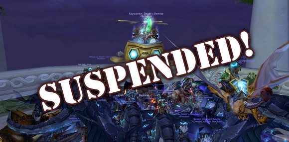 Exodus guild is suspended