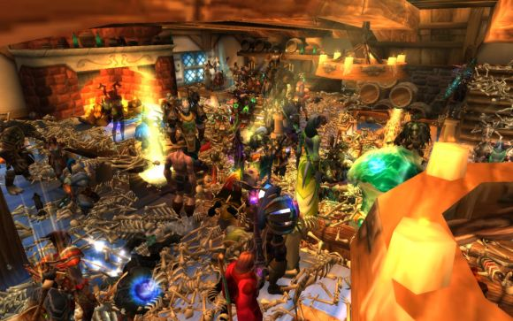Around Azeroth Yes, the world is heading for destruction TUESDAY