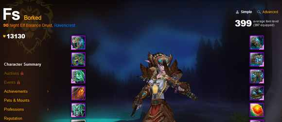 ah level 90 9 24 12 FS of Ravencrest EU gets world first level 90? [UPDATE: Rolled back]