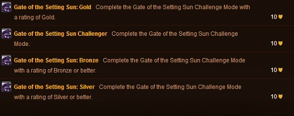 Challenge Mode Golds start to appear!