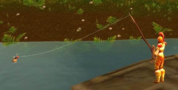 Fishing no longer needs poles
