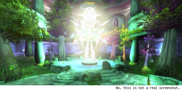 Know Your Lore Of Elune, naaru, and night elves SUN