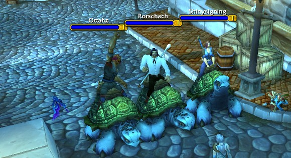 Sea Turtles currently rideable by level one characters! ANY