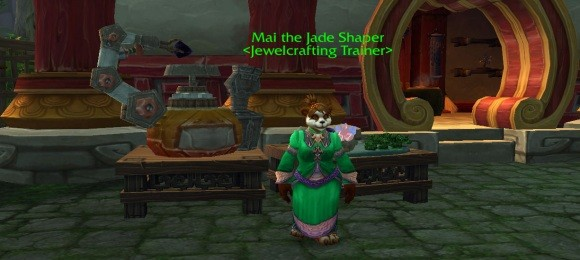 Gold Capped Shuffling Ore in Mists of Pandaria