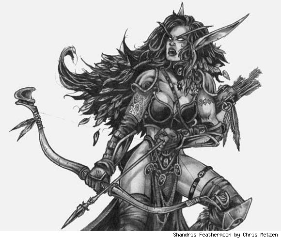 Know Your Lore Shandris Feathermoon for Warchief