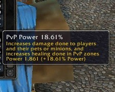 PvP Power, PvP Resilience and PvE gear