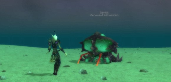 Mists of Pandaria beta Who needs Frostmourne when you've got Lobstmourne ANY