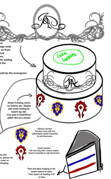 Soulbound A World of Warcraftthemed wedding THU