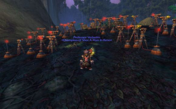 Around Azeroth The searcher WEDNESDAY