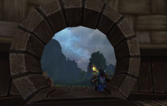 Around Azeroth Riding the storm out SUNDAY