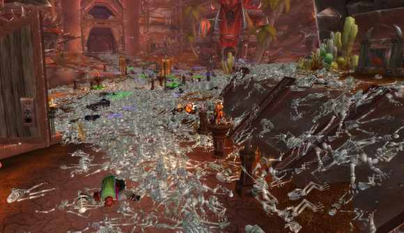 Piles of bodies in WoW after an 'exploit' struck the game