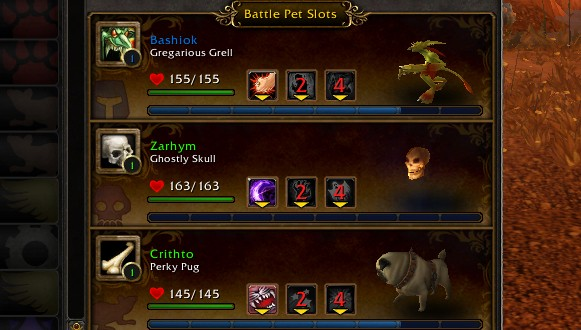 Breakfast Topic What's your Pet Battle team