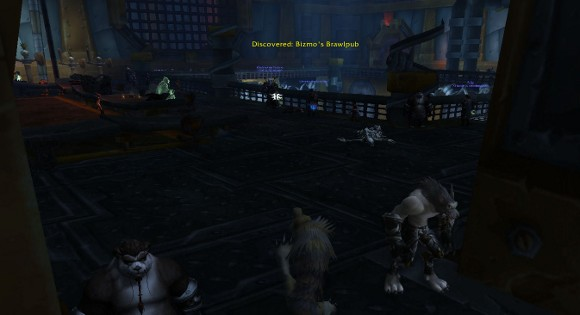 My first night in Brawler's Guild