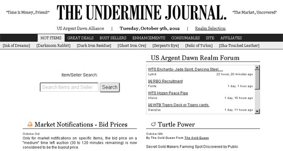 The Data Guy Meet the dev behind The Undermine Journal, Realm Pop, and more