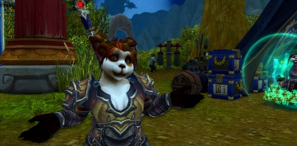 Pandaren roleplay from 185 SAT