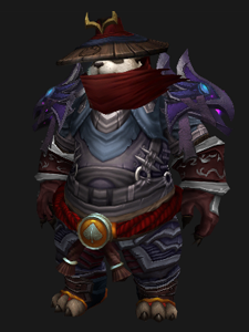 Transmogrify your monk or leather wearer into a member of the ShadoPan THURS