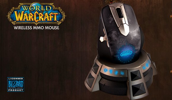 Steelseries debuts Wireless World of Warcraft mouse