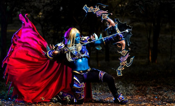 Blizzard features Community Cosplayers Sylvanas Windrunner