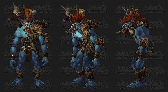 Patch 51  Vol'jin gets a new model