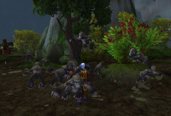 Around Azeroth Iridescent apes THURSDAY