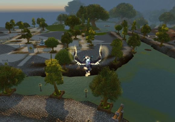 Around Azeroth Six feet of water in the streets of Stormwind SUNDAY