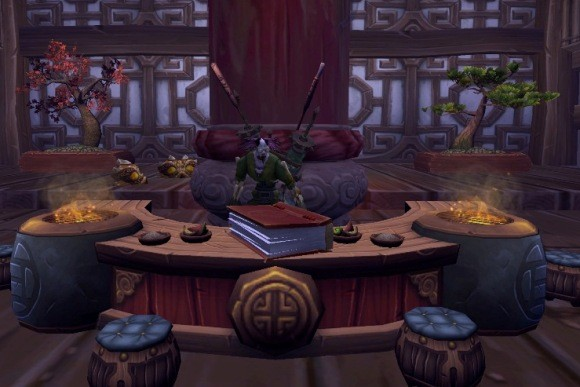 Around Azeroth I was working in the lab late one night MONDAY