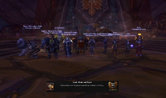 GuildOx interviews new World First guild Arctica
