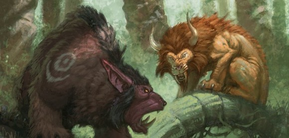 Shifting with nature Roleplaying the druid SAT