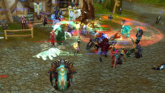 Terror in the Mists Clawing up the levels on a PvP realm