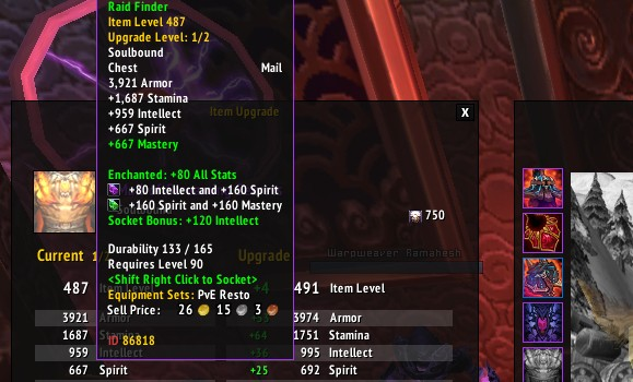 The future of Item Upgrades Returning for PvE, but not for PvP