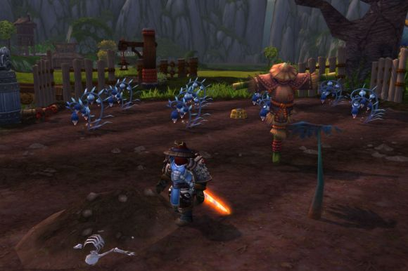 Around Azeroth Just another day on Belle Gunness's farm MONDAY 